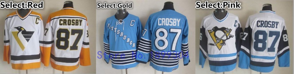 the latest e5b59 79b0f pittsburgh penguins 87 sidney crosby black throwback ccm jersey