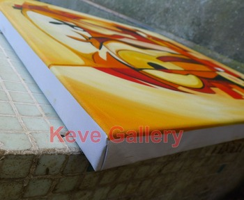 Additional cost of stretched painting In size 24x36inches Wooden unframed