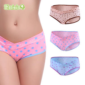 3 Pcs/Lot Cotton Pregnancy & Maternity Underwear U-Shaped Low Waist Women Clothing Pregnant Underwear Briefs Maternity Panties