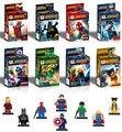 8pcs/lot Hulk,X-Man,Thor,Iron Man,Captain America,The vengeance,Batman,Super Hero Assembly building  blocks toys for kids