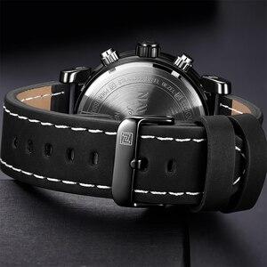 Image 5 - Naviforce 럭셔리 남자 led 아날로그 쿼츠 시계 남자 육군 군사 스포츠 시계 남성 방수 날짜 손목 시계 relogio masculino