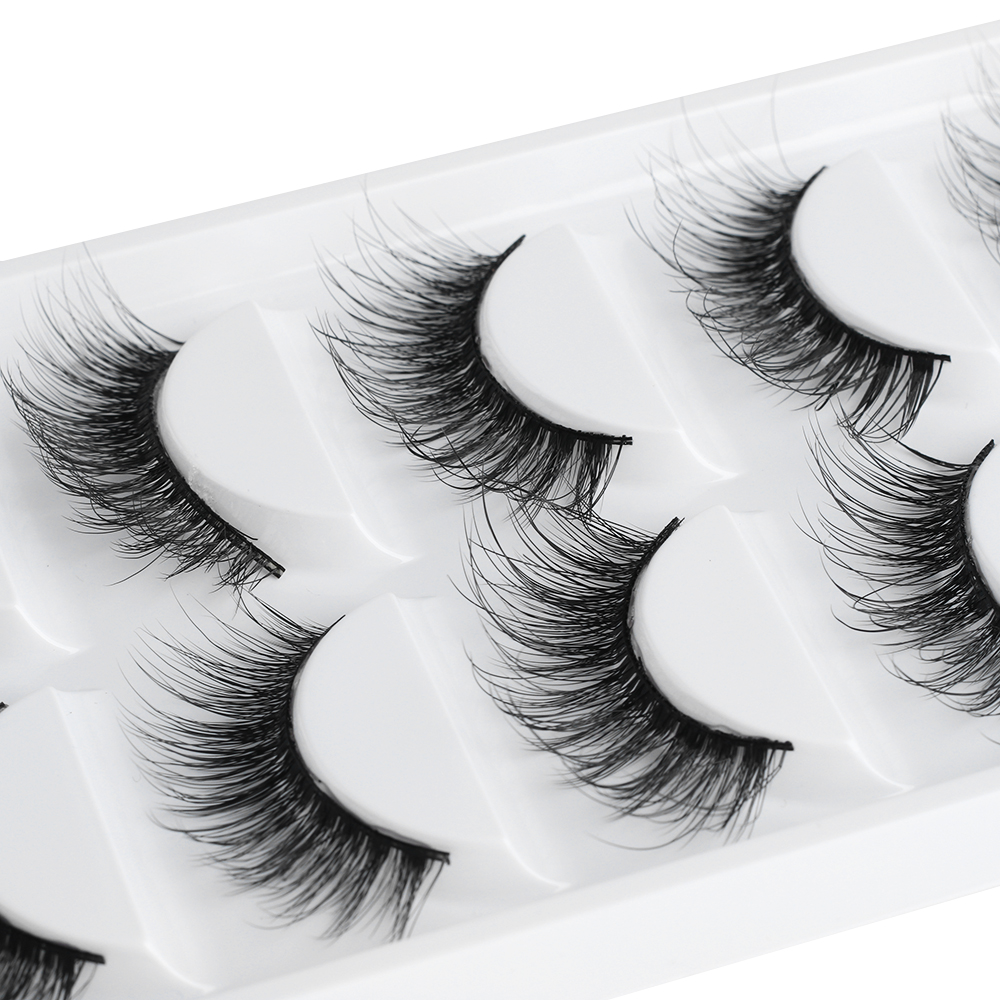 Beauty & Health 2019 New 6 Styles 5 Pairs Mink Hair False Eyelashes Natural Thick Long Soft Eye Lashes Makeup Extension Tools A Great Variety Of Goods False Eyelashes