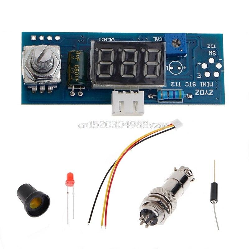 Digitale Lötkolben Station Temperaturregler Kits Für HAKKO T12 Griff # H028 #