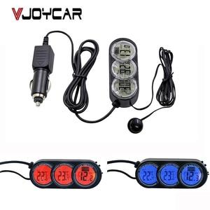 Car Thermometer Voltage Monito