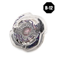 Beyblade 3053 B12 Gyro+Launcher With Original Metal Fusion 4D Spinning Top Gifts Toys #E