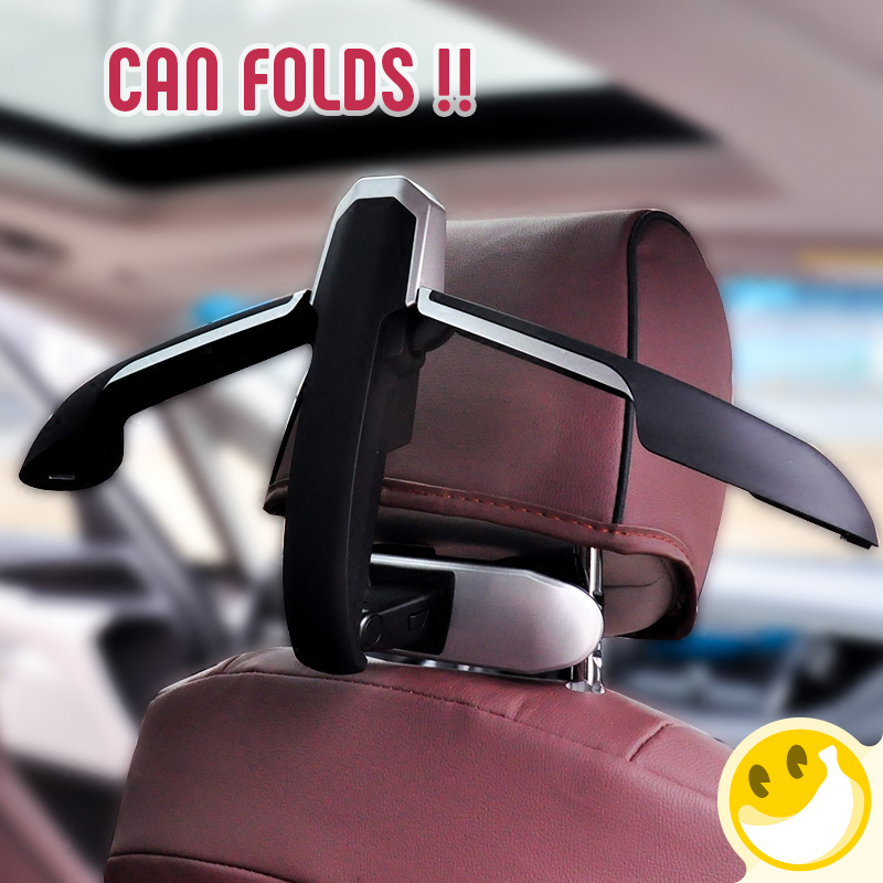 New Car Hangers Back Seat Coat Clothes collapsible Vehicle Fastener Hanger For Car Accessories For Ford