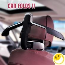 Новый автомобиль Вешалки на заднем сиденье пальто одежда складной автомобиль застежка вешалка для автомобиля Интимные аксессуары для Ford Focus Volkswagen