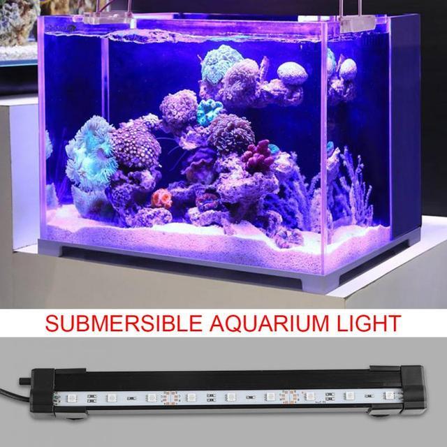 Waterproof Underwater Aquarium Light Submersible Rgb Led Aquarium