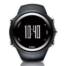 2016 Hot Sael Hombres Reloj GPS Profesional Running Aptitud Relojes 50 M Impermeable Reloj Digital de Contador de Calorías EZON T031