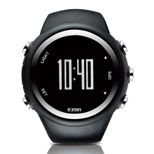 2016 Горячей Sael Мужские Часы Профессиональный GPS Запуск Фитнес Спортивные Часы 50 М Водонепроницаемый Счетчик Калорий Цифровые Часы EZON T031