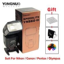 Yongnuo YN560-III Flash Lumière Avec Griffe Universelle Costume Pour Canon Pour Nikon TOUS LES Appareil Photo Numérique GN58 RF-603 RF-602 émetteur