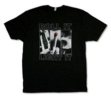 CYPRESS HILL ROLL IT BLACK T-SHIRT NEW OFFICIAL ADULT BAND LIGHT Top Tee Plus Size T Shirt Harajuku