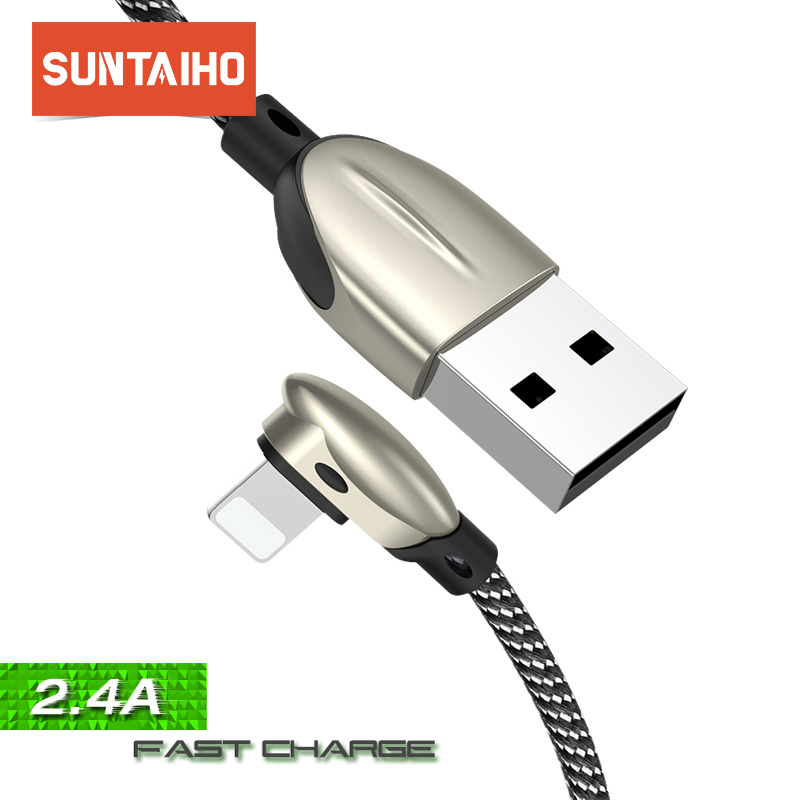 Suntaiho USB Cable for lighting cable for iphone XR phone charge for iphone xs max 8 7 Plus 6 5 SE ipad mini 2 Fast charging in Mobile Phone Cables from Cellphones Telecommunications