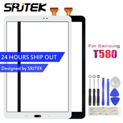 Srjtek 10,1 для Samsung Galaxy Tab A 10,1 T580 t585 sm-t580 sm-t585 сенсорный экран с цифрователем сенсорного ввода Tablet Замена