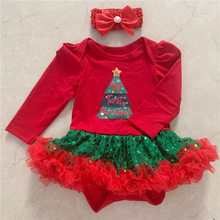 First Christmas Baby Rompers Costumes