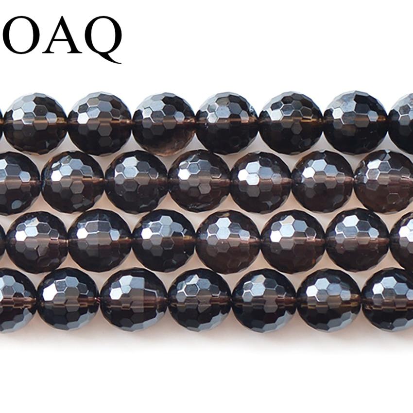 Aliexpress.com : Buy 128 Section Smoky The Quartz Crystal ... Quartz Crystal Beads