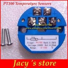 Resistência térmica 4-20ma do módulo do sensor do transmissor da temperatura de rtd pt100-50-50-50-100 -50-150 100 200 300 400 graus 0-5v 10v