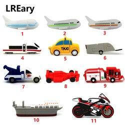 Флешка для автомобиля/самолета/поезда/грузовика/мотоцикла, флешка для модели самолета, 4 ГБ, 8 ГБ, 16 ГБ, 32 ГБ, 64 ГБ, USB флеш-накопитель, карта пам...