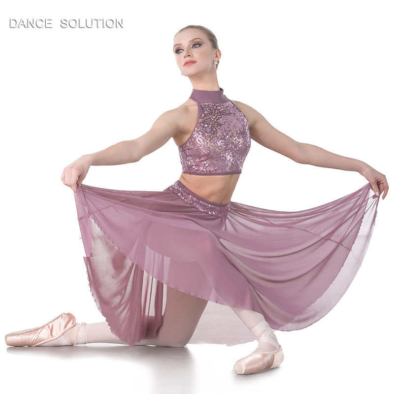 Clearance SILVER RAIN Contemporary Dance Costume Ballet Child /& Adult 2XL