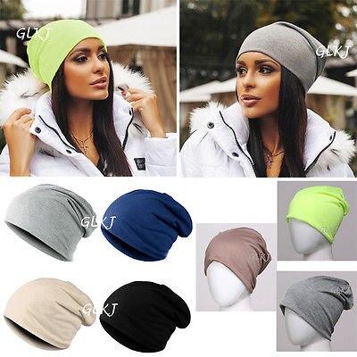 b8279544fd7bb 7 Colors Casual Unisex Women s Men s Knitted Newest Knit Winter Warm Ski  Crochet Slouch Hat Cap Beanie