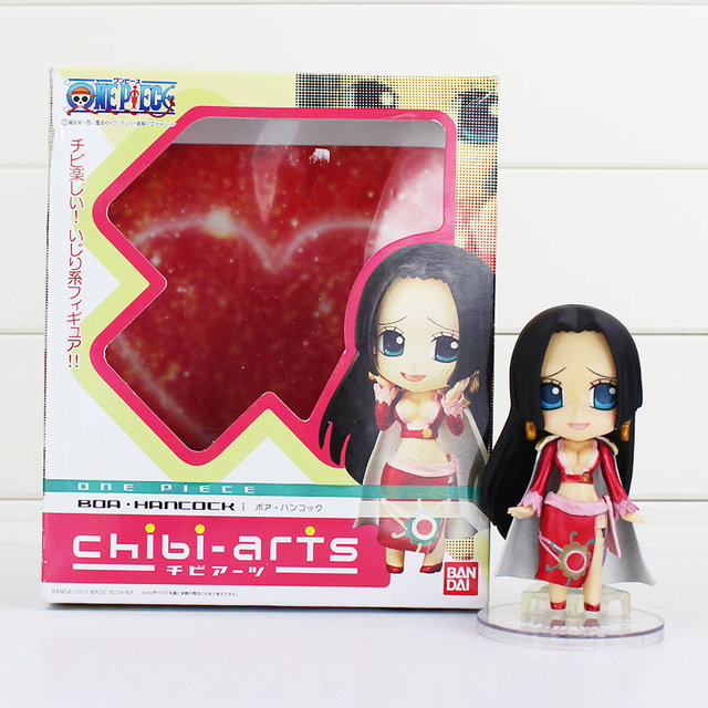 10cm One Piece empress cute high-grade boxed face Boa Hancock One Piece anime garge kits Doll toys One piece action figure