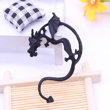Popular Gothic Punk Style Domineering Personality Dragon Men And Women Fashion Retro 3 Color Earrings For
