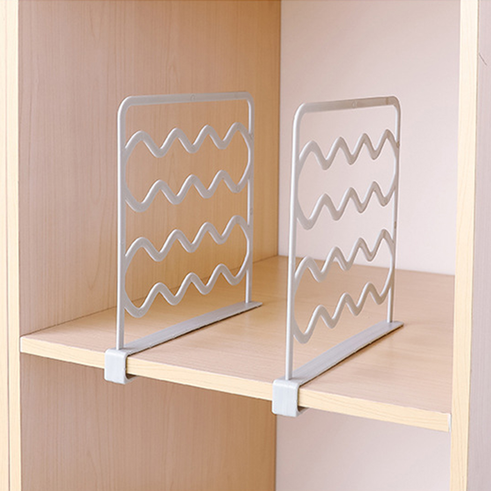 Shelf Box Separator-Plate Dividers Clothing Organizer Fender-Closet-Shelves Wardrobe title=