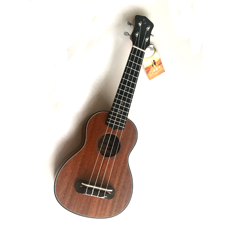21 inch Ukulele 15 Frets Soprano Uke Guitar Made from Rosewood Mahogany 23 inch green mahogany ukulele hawaiian guitar uke for beginner adult with bag strap tuner strings picks