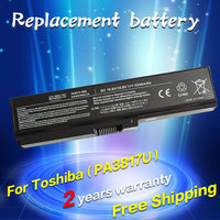 JIGU 4400mAh Laptop Battery For Toshiba Satellite PA3817U 1BRS L750 L750D L650 PA3816U 1BRS PA3818U 1BRS