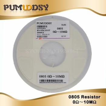 цена на 5000 Pcs 0805 SMD 1/8W chip resistor 0R ~ 10M 0 10R 100R 220R 330R 470R 1K 4.7K 10K 47K 100K 0 10 100 330 470 ohm