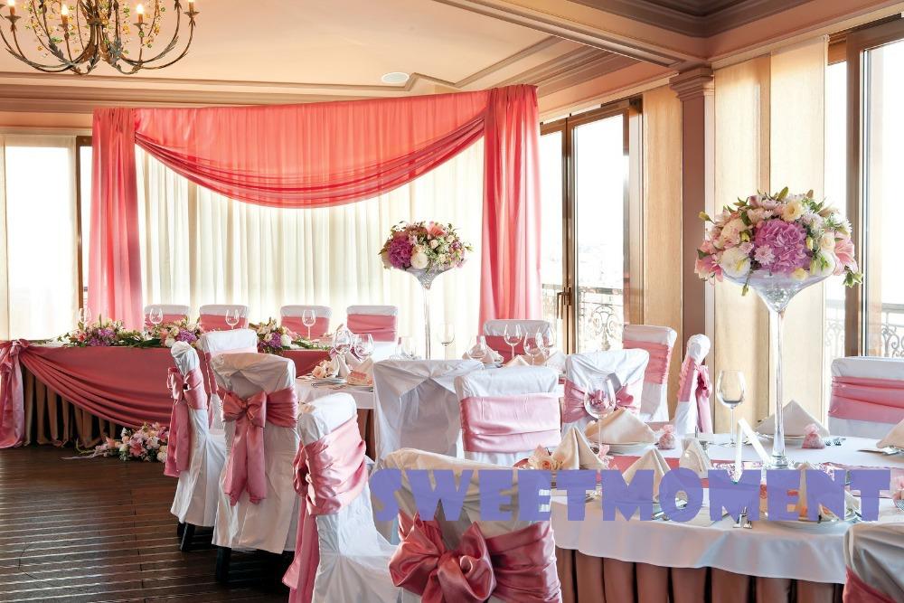 drap de mariage et tuyau pour toile de fond dcor - Drap Mariage Plafond