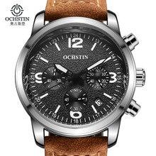 Mens Watches Top Brand Luxury Sports Watches Men OCHSTIN Fashion Clock Dress Men's Quartz Watch Male Hours 2016 Erkek Kol Saati