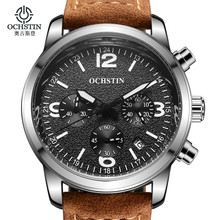Mens Watches Top Brand Luxury OCHSTIN Sports Watches Men Fashion Clock Dress Men's Quartz Watch Male Hours 2017 Erkek Kol Saati