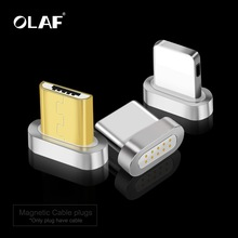OLAF Magnetic Charger USB Cable Adapter For iPhone Micro USB Type C Mo