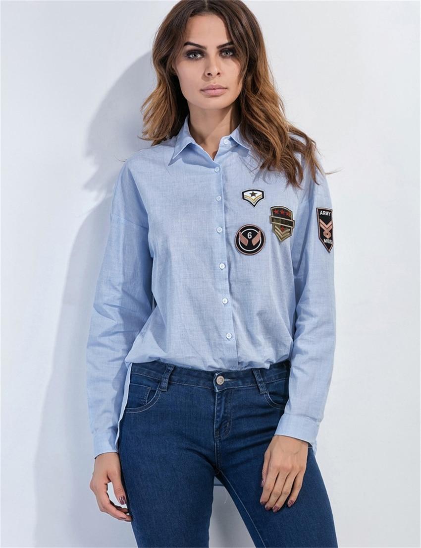 Popular Women's Blue Shirts-Buy Cheap Women's Blue Shirts ...