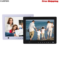 CARPRIE Digital Photo Frame 10-Inch Front Touch Screen Button With Body Sensor Digital Photo Frame MP3 Video Player