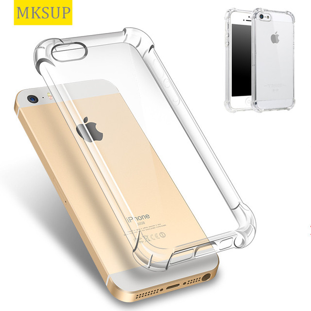 Luxury Ultra Thin Transparent Nature TPU Case For iPhone 5s 5 S se Crystal  Clear Soft Silicone Shockproof Back Cover For iPhone5 c0217027d0