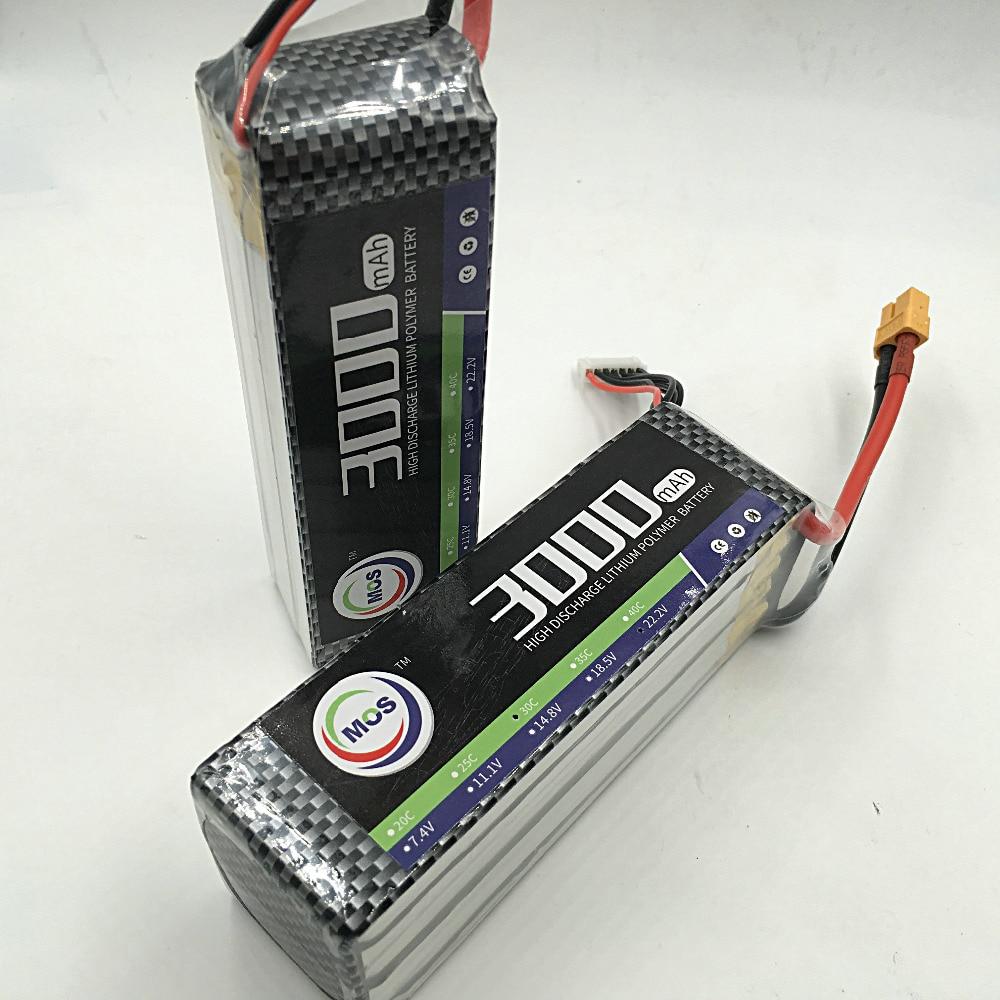 MOS 5S lipo battery 18.5v 3000mAh 35C For rc airplane free shipping 2pcs package mos 3s lipo battery 11 1v 1300mah 35c for rc airplane free shipping