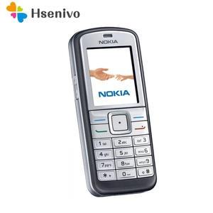 Nokia 6070 100%Original Unlocked Cheap GSM Refurbished Cellphone One-Year-Warranty 2G