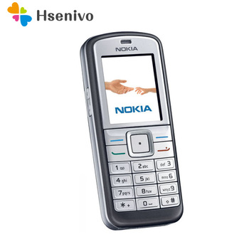 100% Original Nokia 6070 Unlocked Refurbished Mobile Phone 2G GSM Cheap Cellphone One year warranty Free shipping - discount item  20% OFF Mobile Phones