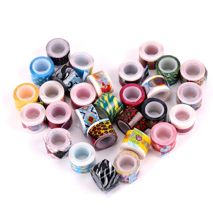 10 шт./компл. Kawaii украшения ленты мини-цветные ленты DIY наклейки Скрапбукинг маскирования дневник кружева ленты