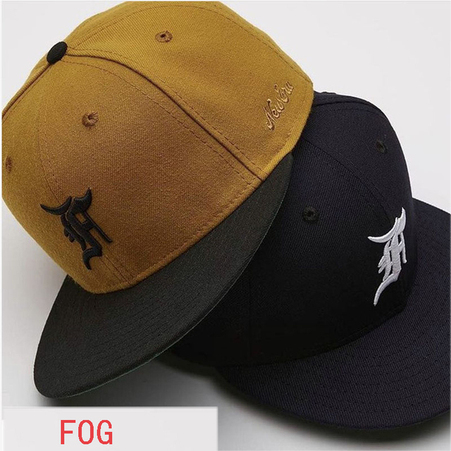 2018 New Fear Of God Caps Justin Bieber Hip Hop Black Yellow FOG Baseball  Cap Casual Streetwear Embroider Denim Fear Of God Hats 9ce9b182a840