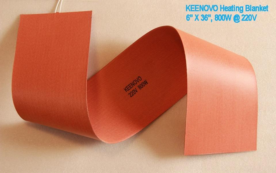 Keenovo Flexible Silicone Heater, 6