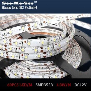 SMDT-35-60 50M/lot DC12V Waterproof Flexible light SMD3528 60LED/M LED Strip