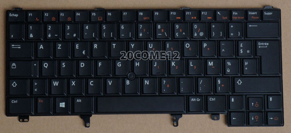 New notebook Laptop keyboard for DELL Latitude E6320 E6330 E6420 E6430  French Layout new laptop keyboard for asus 0kn80 1120fr00 black windows 8 french layout
