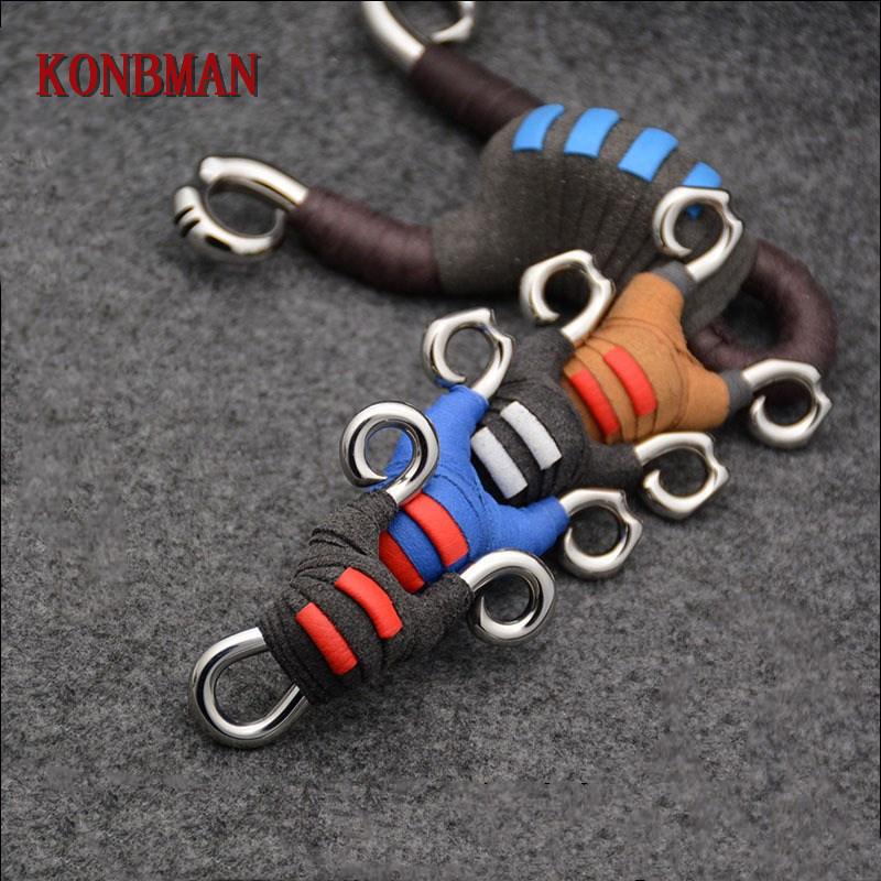 Bow & Arrow Cheap Price Mini Stainless Steel Slingshot Handmade Handle Sling Shot Professional Pocket Hunting Shooting Catapult Bow High-quality