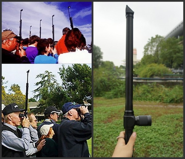 ФОТО Pro Tactical 5X Periscope adjustable Angle Monoculars Rifle Scope Hunting Shooting Riflescope