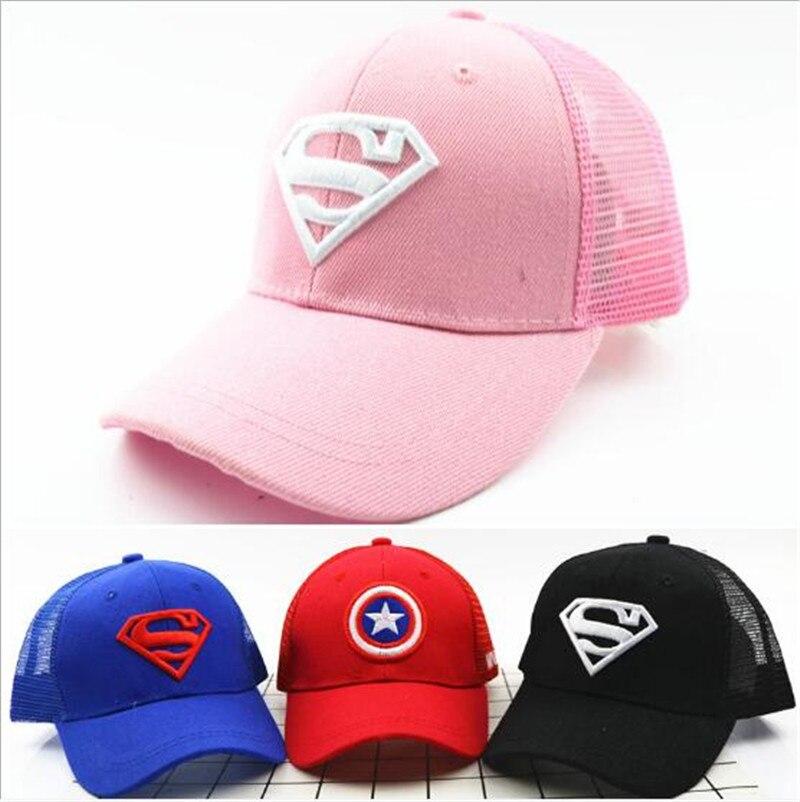 Модная новинка 2020, Детская регулируемая бейсболка для мальчиков и девочек, сетчатая шляпа, Детская Солнцезащитная шляпа