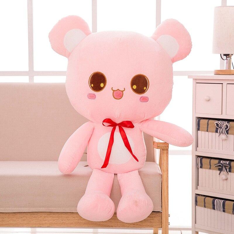 Stuffed animals plush soft kawaii plush bear doll hug bear stuffed toy extra large doll girlfriend gift children's birthday gift