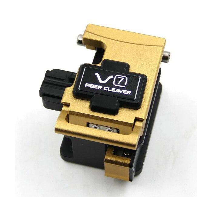 Original INNO V7 Fiber Cleaver V7 FTTX Optical Fiber Cleaver 48,000 Fiber Cleaver Typical Blade Life